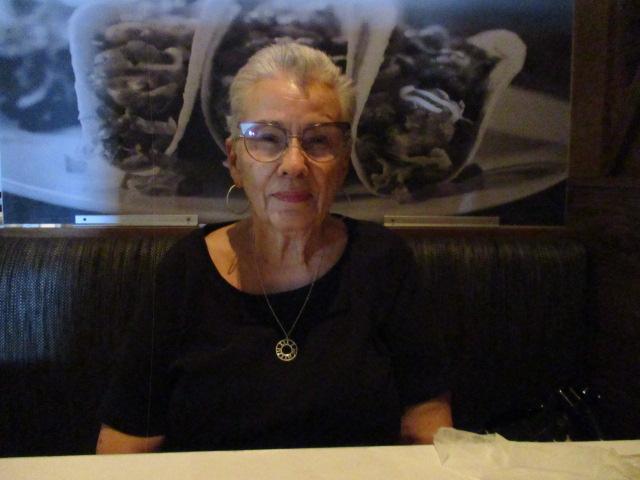 Photo of Westercon 74 guest of honor Myrna Donato